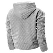 New Balance NB Heat Loft Hoodie, Athletic Grey