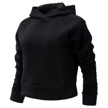 New Balance NB Heat Loft Hoodie, Black