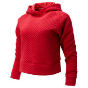 New Balance NB Heat Loft Hoodie, Team Red