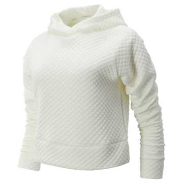 New Balance NB Heat Loft Hoodie, Sea Salt