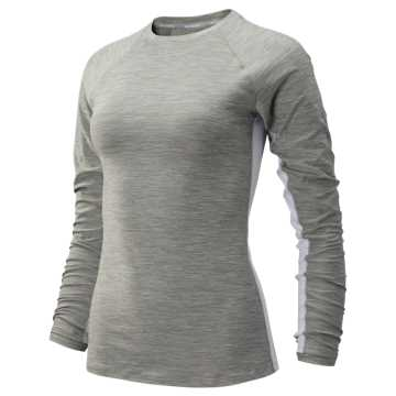 New Balance Transform Long Sleeve, Athletic Grey