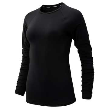 New Balance Transform Long Sleeve, Black