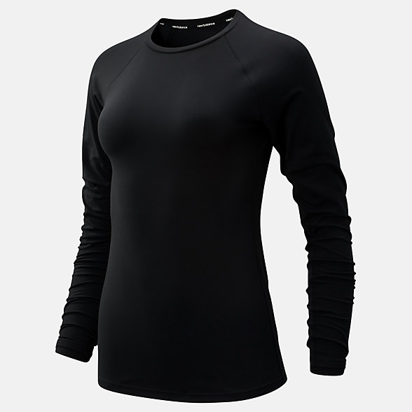 New Balance Transform Long Sleeve, WT93127BK