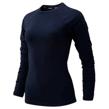 New Balance Transform Long Sleeve, Pigment Heather