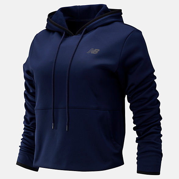 New Balance Relentless Fleece Hoodie, WT93138PGM