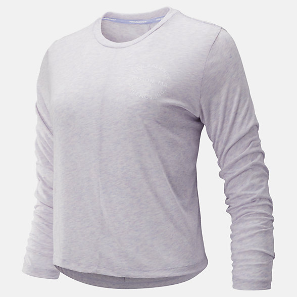 New Balance Relentless Long Sleeve, WT93141CA2