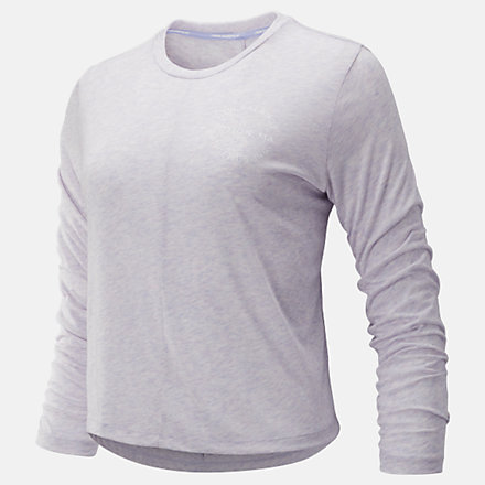 New Balance Relentless Long Sleeve, WT93141CA2 image number null