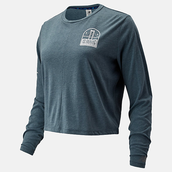 New Balance NYC Half Relentless Long Sleeve, WT93141COHR