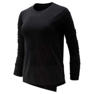 New Balance Determination Luxe Long Sleeve, Black