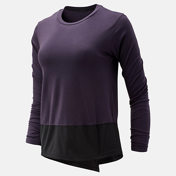 New Balance Determination Luxe Long Sleeve, WT93147IVI