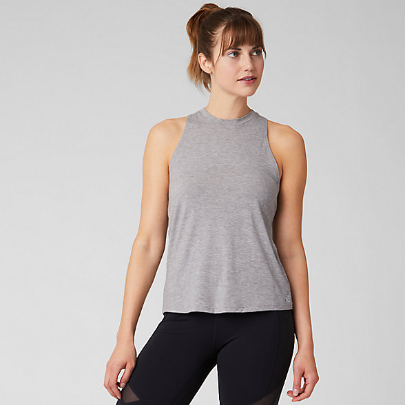 New Balance Transform Jersey Twist Tank, WT93173AG