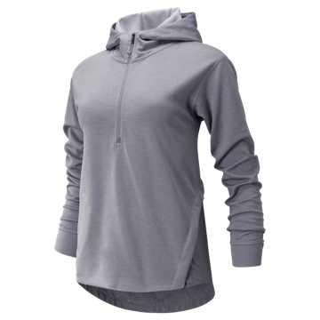 1ce6c83d1f5d8 New Balance Q Speed Run Crew Sweatshirt, Smokey Quartz