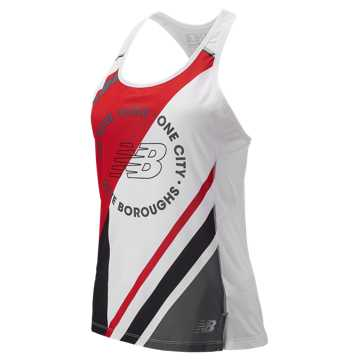 New Balance NYC Marathon NB ICE Singlet, White