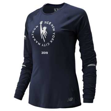 New Balance NYC Marathon NB ICE Long Sleeve, Pigment