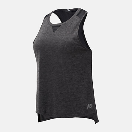 New Balance Camisole en mailles Impact Run, WT93271BKH image number null