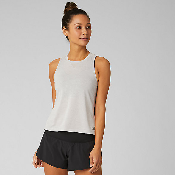 New Balance Impact Run Mesh Tank, WT93271OCR