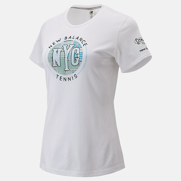 New Balance Court Graphic Tee, WT93448WT