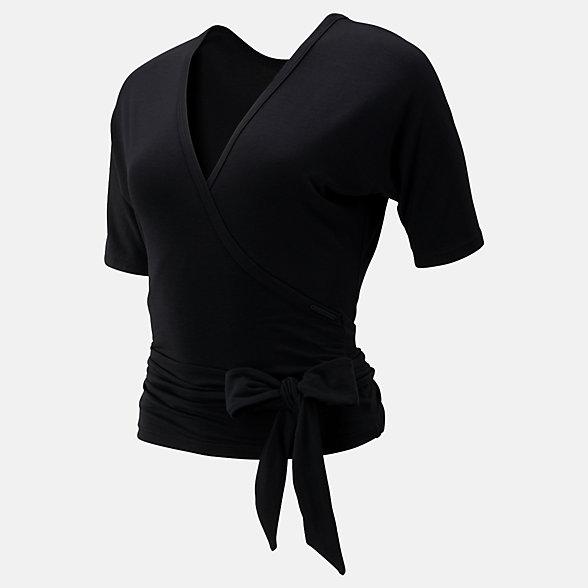 New Balance T-shirt portefeuille bidirectionnel Balance, WT93454BK