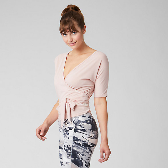 New Balance T-shirt portefeuille bidirectionnel Balance, WT93454WOH
