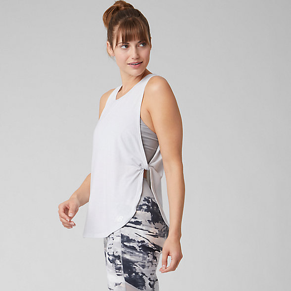 New Balance Evolve Relaxed Tank, WT93488SAH