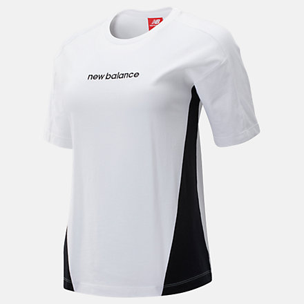 New Balance NB Athletics Classic Layering Top, WT93503WT image number null