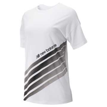 New Balance Sport Style Optiks Top, White