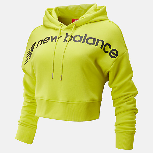 New Balance Sport Style Optiks Cropped Hoodie, WT93510SYE
