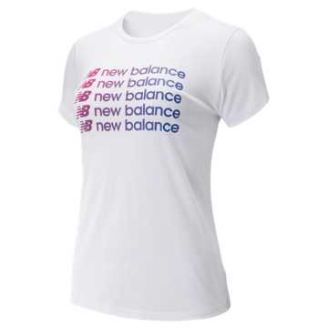 New Balance Sport Style Optiks Repeat Tee, White