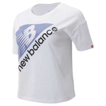 New Balance NB Athletics Archive Boxy Tee, White
