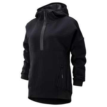 New Balance Sport Style Select Heatloft Qtr Zip, Black