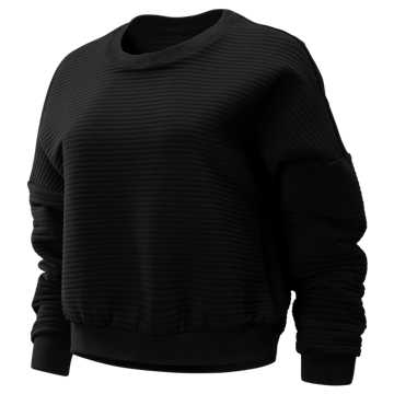 New Balance Sport Style Select Heatloft Pullover, Black