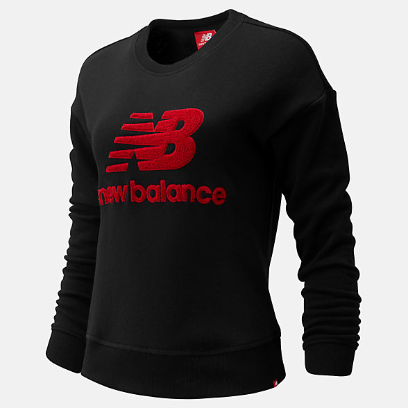 New Balance NB Athletics Stadium Crew, WT93548BK