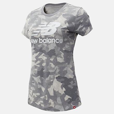 New Balance T-shirt imprimée avec logo superposé Essentials, WT93555SEL image number null