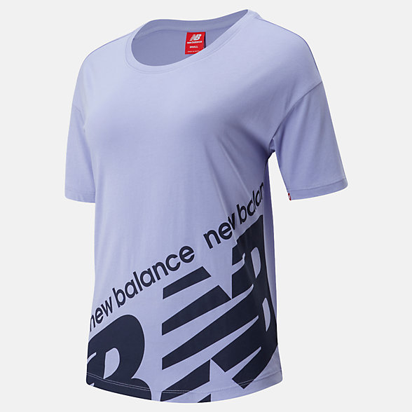 New Balance NB Athletics Classic Boyfriend Tee, WT93563CAY