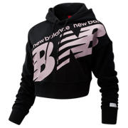 NB NB Athletics Cropped Hoodie, Black