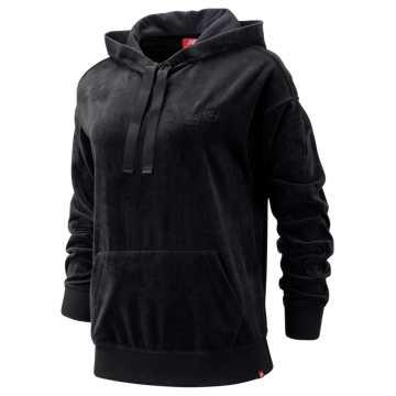 New Balance Essentials Opulence Hoodie, Black