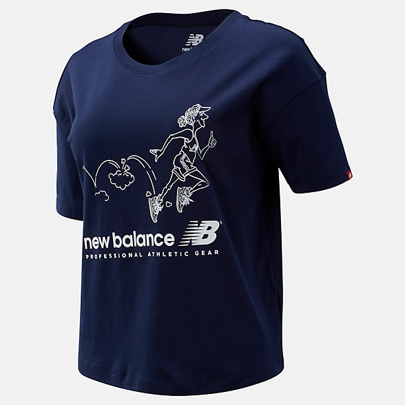 NB NB Athletics Archive Throwback Tee, WT93589PGM