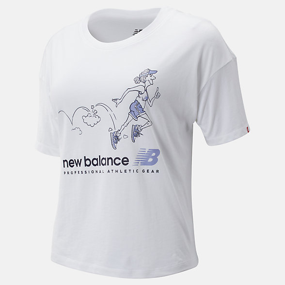 NB NB Athletics Archive Throwback T-Shirt, WT93589WT
