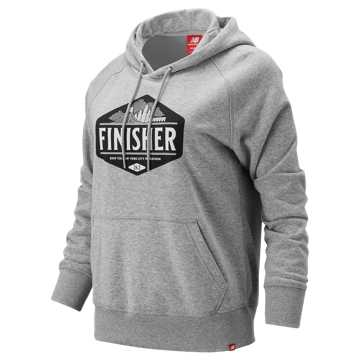 New Balance NYC Marathon Finisher Hoodie, Athletic Grey