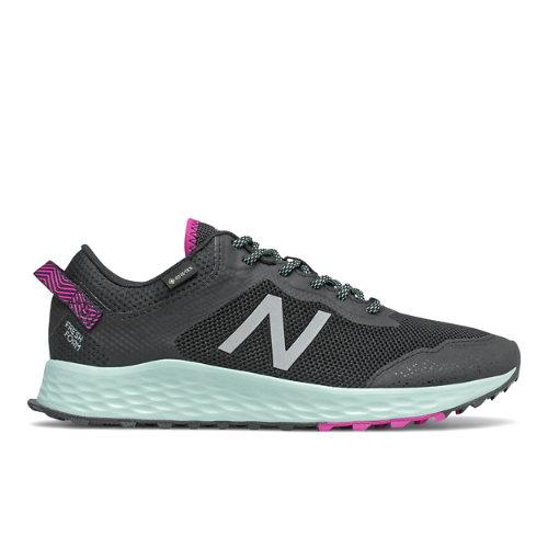 New Balance Fresh Foam Arishi Trail GTX - Black/Purple - Mujeres EU 41.5, Black/Purple