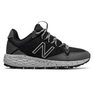 New Balance Fresh Foam Crag Trail, Black with Magnet & Rain Cloud