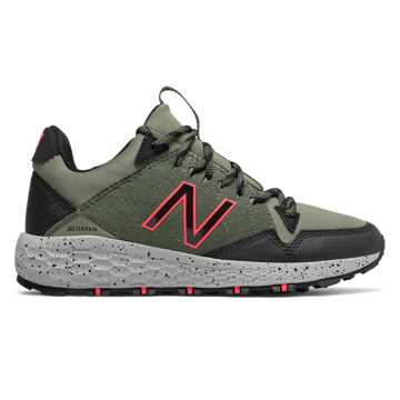 New Balance Fresh Foam Crag Trail, Faded Rosin with Black & Guava