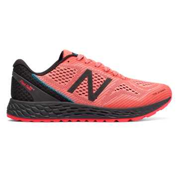 New Balance Fresh Foam Gobi Trail v2, Vivid Coral with Black