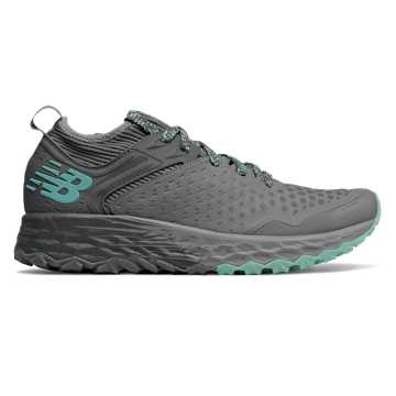 New Balance Fresh Foam Hierro v4, Lead with Gunmetal & Light Tidepool