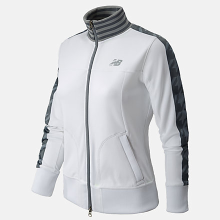 New Balance Tournament Jacket, WTJ4343WT image number null