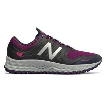 New Balance Fresh Foam Kaymin TRL, Claret with Pigment & Pink Zing