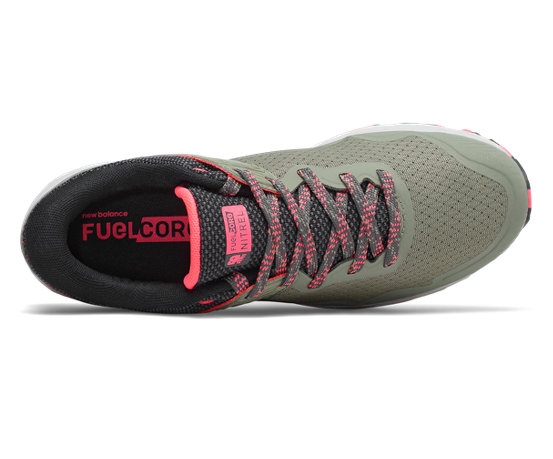 a4c01b876ce67 New Balance FuelCore Nitrel v2, Mineral Green with Guava