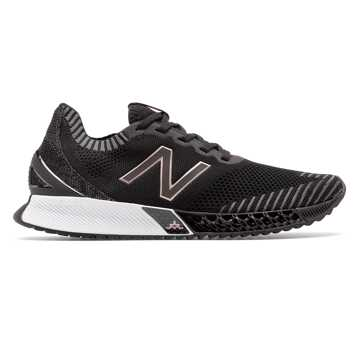 New Balance Women's FuelCell Echo Triple, Black with Magnet & Rose Gold