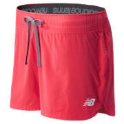 New Balance Challenger Muni Short, Bright Cherry