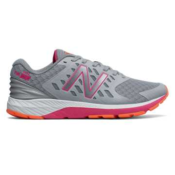 New Balance FuelCore Urge v2, Silver Mink with Alpha Pink & Tangerine